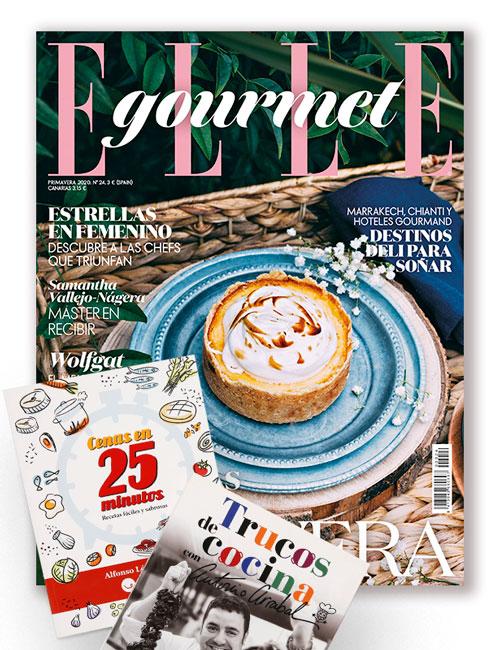 Regalos revista Elle Gourmet suscripción mayo 2020