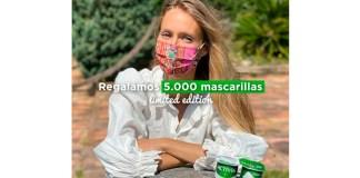 Activia regala 1.000 mascarillas a la semana
