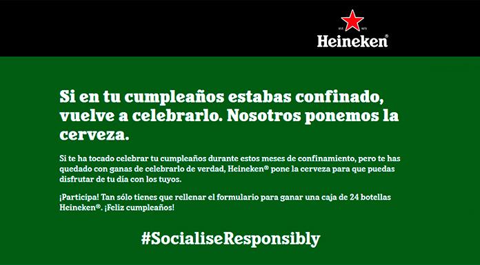 Celebra tu cumpleaños con Heineken