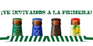 Gratis la primera cerveza Estrella de Levante