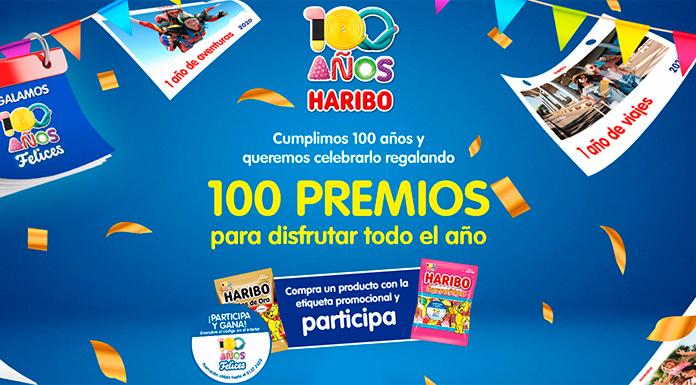 Haribo regala 100 premios para todo el año