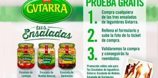 Prueba gratis ensaladas de legumbres Gvtarra