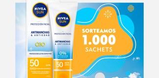 Sortean 1.000 muestras gratis de Nivea Sun