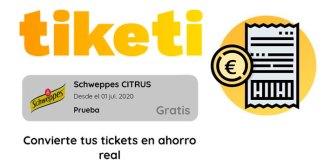 Prueba Schweppes CITRUS gratis con Tiketi