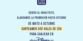 Font Vella sortea 500 vales de 20 €