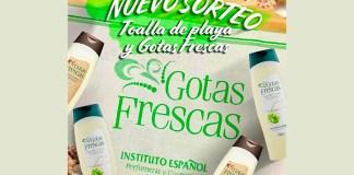 Gana una Toalla de playa y una fragancia Gotas Frescas de Instituto Español