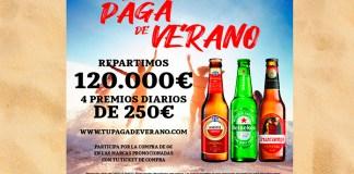 Grandes marcas de cervezas reparten 120.000 euros