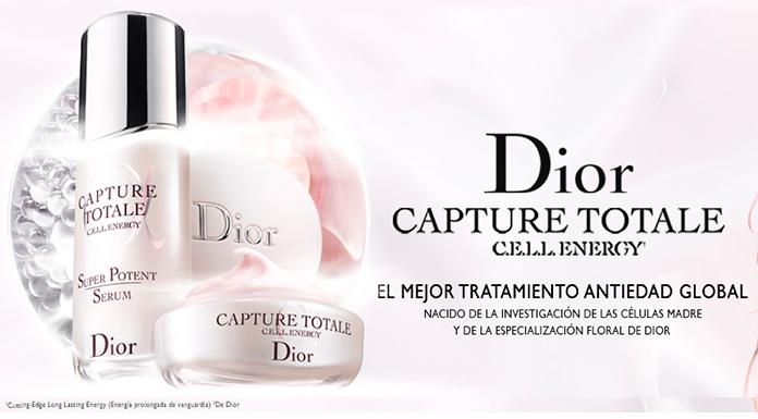 Muestras gratis de Dior Capture Totale