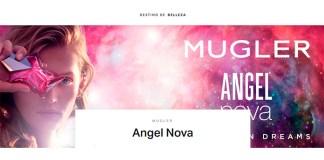 Muestras gratis del perfume Angel Nova