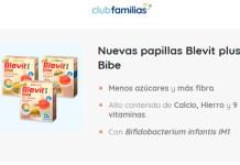 Prueba gratis Blevit plus Bibe con Club Familias