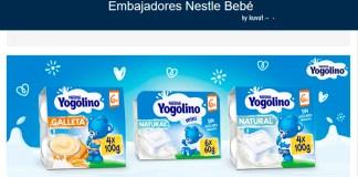 Prueba gratis Yogolino con Club Embajadores de Nestlé Bebé