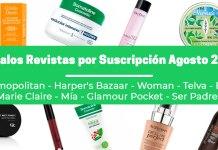 Regalos Revistas por suscripción Agosto 2020