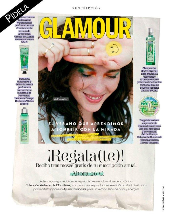 Regalos revista Glamour Pocket por suscripción agosto 2020