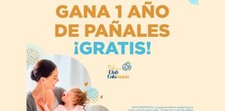 1 Año de pañales gratis con Club Enfamamá