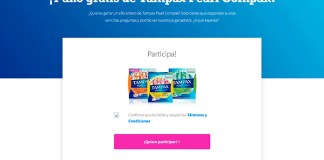 Gana 1 año gratis de Tampax Pearl Compak