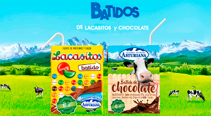 Gratis Batidos de Lacasitos y Chocolate Central Lechera Asturiana