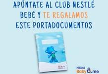 Muestras gratis para bebés con Club Nestlé Bebé