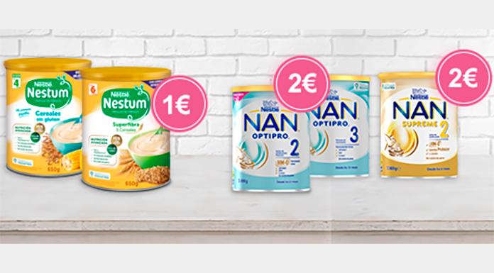 Reembolsos en Nestlé Nestum y Nan