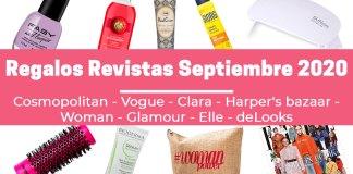 Regalos Revistas Septiembre 2020