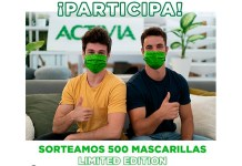 Activia sortea 500 mascarillas Limited Edition