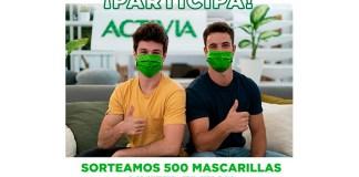 Activia sortea 500 mascarillas Limited Edition