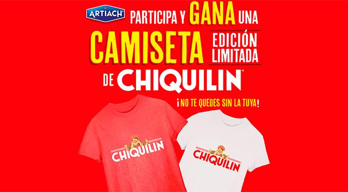Llévate gratis a casa una camiseta de Chiquilin
