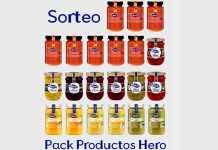 Sortean 3 Packs de productos Hero