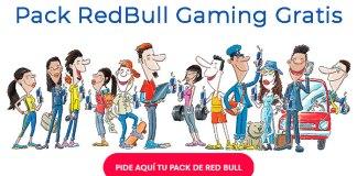 Llévate gratis un pack de Red Bull