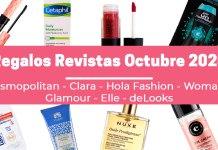 Regalos Revistas Octubre 2020