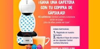Gana una cafetera Central Lechera Asturiana