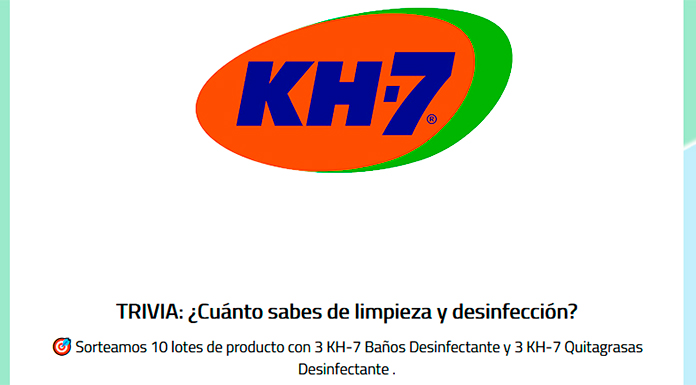 Kh-7 sortea 10 lotes de productos