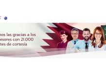 Qatar Airways ofrecen billetes de avión de cortesía a 21.000 profesores