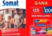 Regalan 125 tarjetas de 100 € con Somat