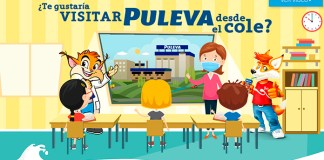 Visita gratis Puleva desde el cole