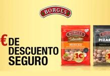 1 euro de descuento en Borges