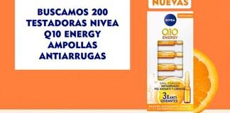Buscan 200 testadoras Nivea Q10 Energy
