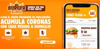 Programa de fidelización My Burger King