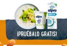 Prueba gratis la gama alta en proteína de Alpro