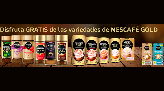 Prueba gratis Nescafé Gold Lattes Veggies