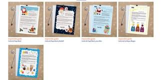 Cartas navideñas gratis con Stikets