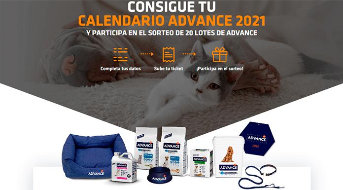 Consigue un Calendario Advance 2021