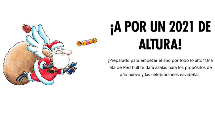 Red Bull regala 800 Christmas packs