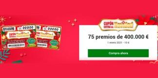 Sorteo Cupón Extra de Navidad de la ONCE 2021