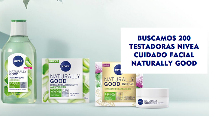 Buscan 200 testadoras Nivea Naturally Good