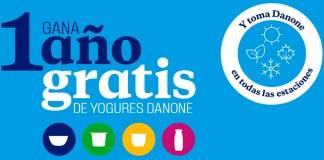 Gana 1 año gratis de Yogures Danone