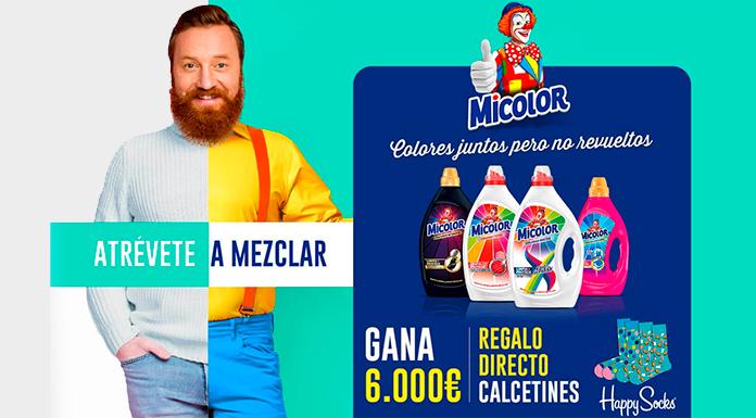 Micolor sortea 6.000 € y regalos directos