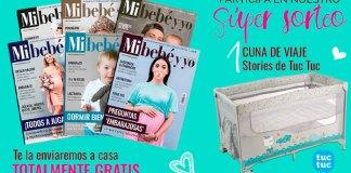 Gratis la revista Mi Bebe y Yo más Sorteos