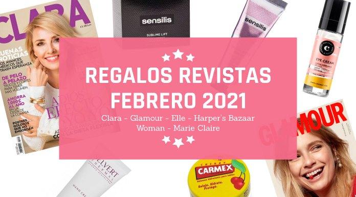Regalos Revistas Febrero 2021
