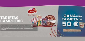 Gana una tarjeta regalo de 50 euros con Campofrío