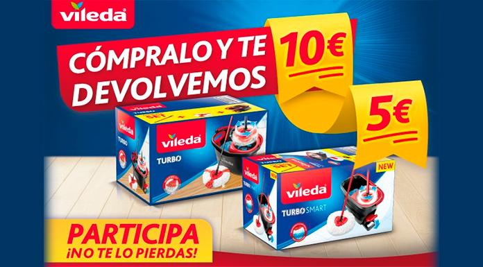 Promoción de reembolso de Vileda Turbo